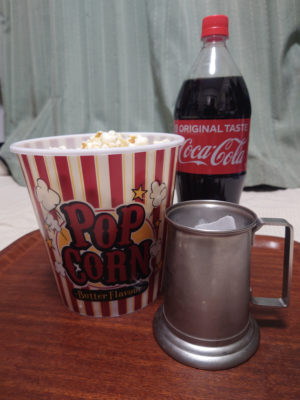 映画館気分になれるポップコーンカップ