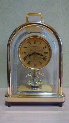 両親の銀婚式にプレゼントした置時計
